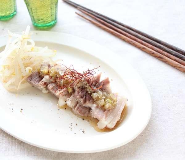 ネギ 塩 ダレ 豚肉